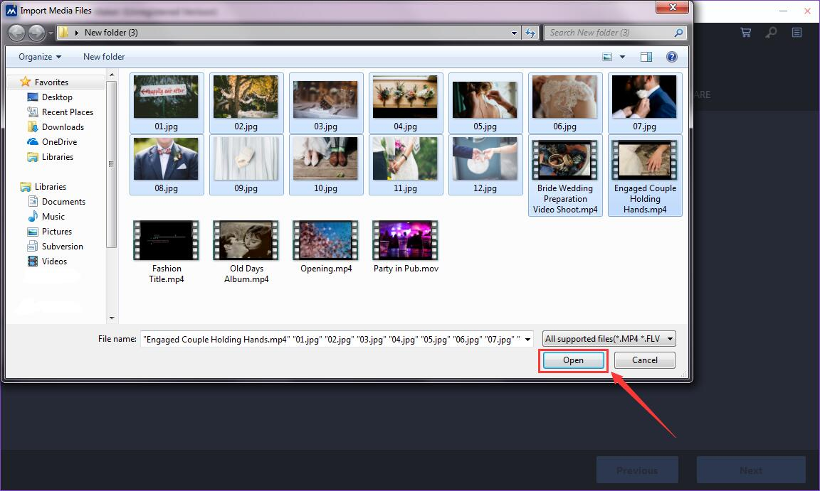 how to use Window Movie Maker Easy-mode step 2